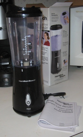 Product Review Hamilton Beach Single Serve Blender This Awesome Life